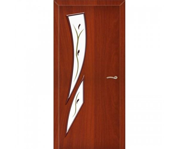 Ламинированная дверь Стрелитция ДО