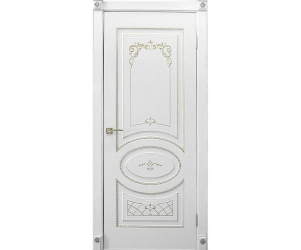 Дверь ПВХ (полипропилен) Марго-4 ДГ