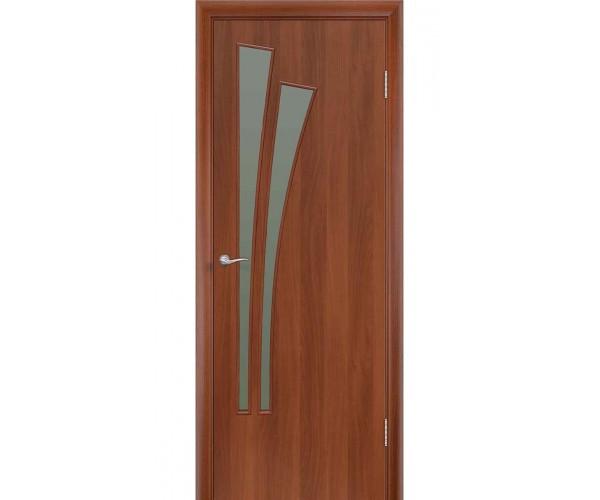 Ламинированная дверь Пальма ДОФ