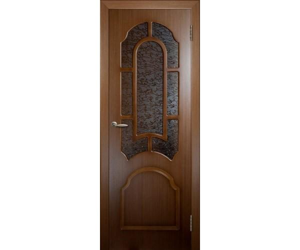 Шпонированная дверь Саната