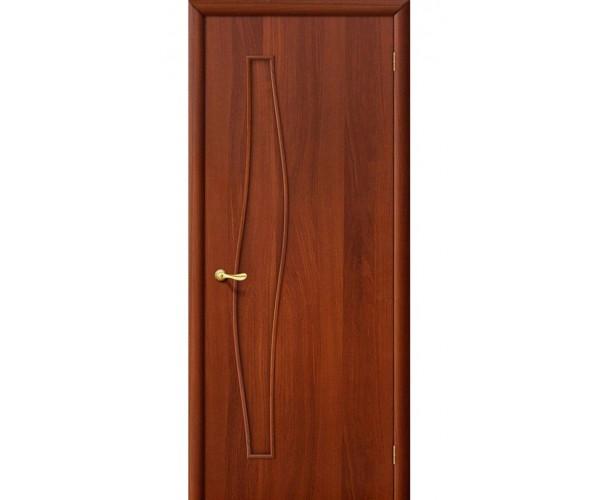 Ламинированная дверь Волна ДГ