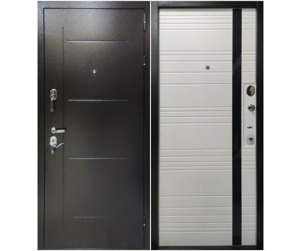 """Входная дверь """"H1 Глория Софт Белый"""""""
